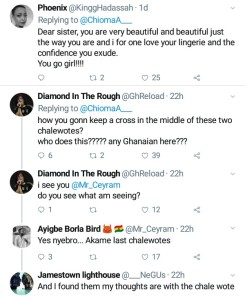 """""""I still look bomb with my saggy boobs""""- Beautiful Nigerian lady replies trolls as she trends on Twitter"""